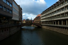 Nurnberg Canal Photo