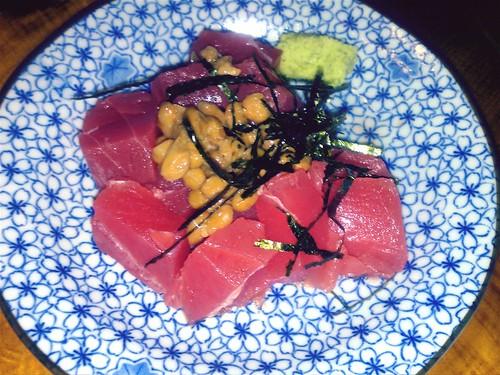 Tuna, nattō