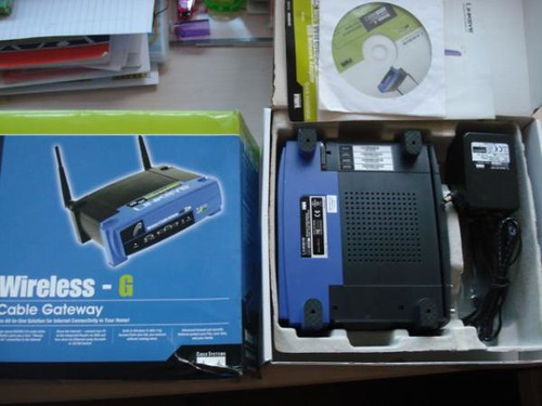 Linksys G router model WCG200