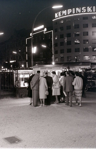 Kurfuerstendamm, West Berlin, 1962