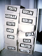 stickers (spanier) Tags: berlin fashion youth wasted tokyo sticker fuck german toyko brand wastedgermanyouth amen paulsnowden