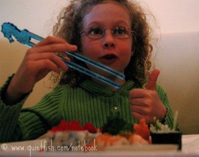 Sarah's birthday dinner of choice