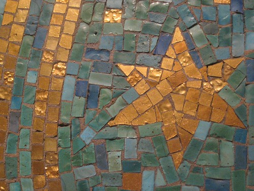 Geza Maroti Mosaic, Fisher Building. Detroit.