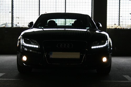 Audi A5 LED headlights
