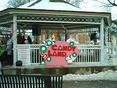 Candyland Gazebo (jessica_in_to) Tags: winter cambridge snow ontario canada festival centralpark candyland christmasincambridge