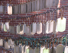 Memorial Garden Dogtags