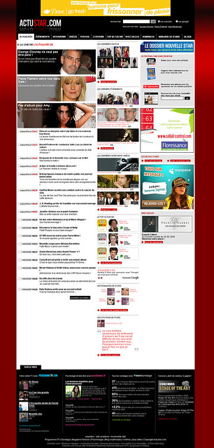 Actualite people, les news et les potins des stars et des celebrites - Actustar.com by hi-media publishing