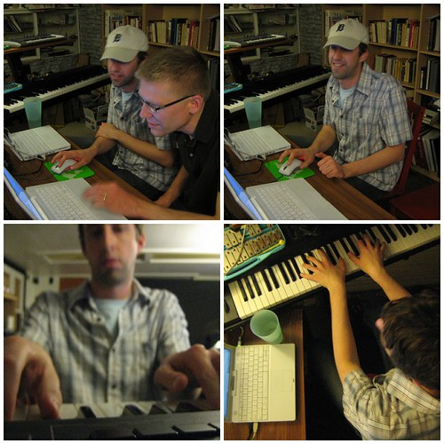 quadruptych: bill van loo & j. schnable studio session