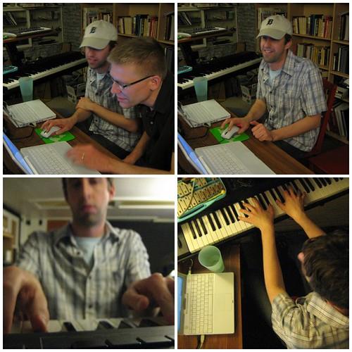 quadruptych: bill van loo & j. schnable studio session