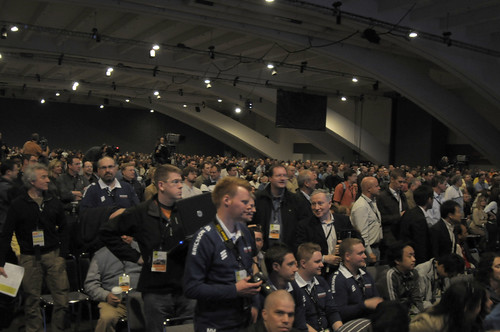 Picture of JavaOne2008 keynote conference room