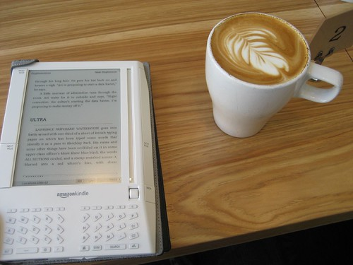 Amazon Kindle Photo of the Day 38: Cafe Kindle
