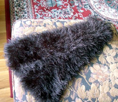 Fun Fur scarf from long ago
