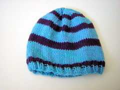 Stripey a4A hat #1