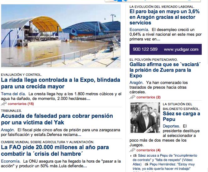 Periódico Aragón