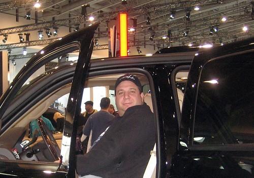 B at Car Show