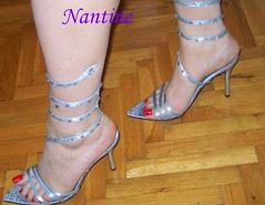 Silver snake tie-up sandals 1 (Kwnstantina) Tags: woman sexy feet female greek foot shoes shiny toes highheels toe arch legs sandals polish nails barefoot strap heels stiletto sole soles anklet sexylegs strappy rednails tieup longnails sexyshoes sexyfeet opentoes sexyhighheels highheeledsandals higharches toring shoejob higharch nylontoes polishednails redlongnails
