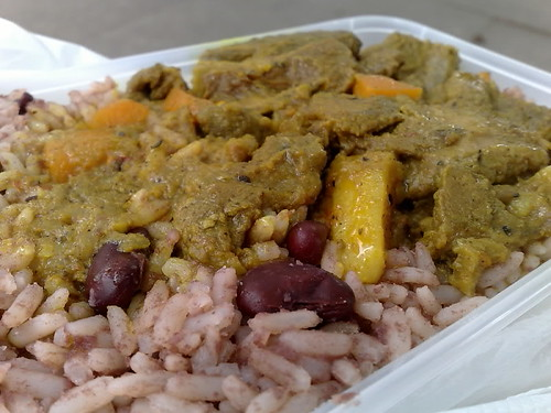 Jamaican Curry Lamb