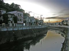 Motosumiyoshi (Arutemu) Tags: city travel japan landscape asian japanese tokyo evening canal nikon asia cityscape view scenic scene   yokohama kanagawa scenes japon   hiyoshi     motosumiyoshi