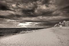 Storm over Palm Beach (Michael Pancier Photography) Tags: hdr michaelpancier palmbeach infrared clouds storm beach bw naturephotographer naturephotography floridaphotographer fineartphotography seor seorcohiba wwwmichaelpancierphotographycom michaelpancierphotography