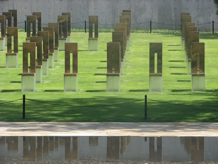 Chairs, Oklahoma City National Memorial & Museum