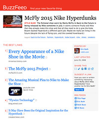 McFly 2015 Nike Hyperdunks - Featured on BuzzFeed
