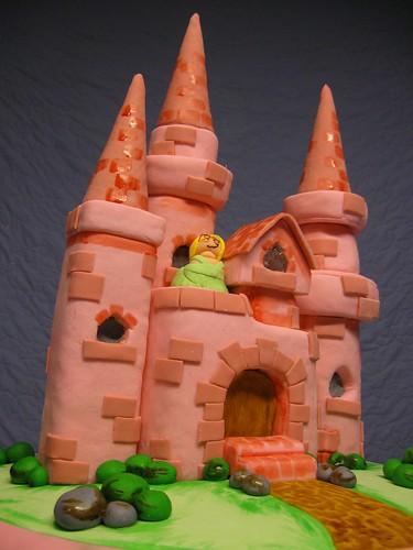Princess Castle Cake - Step 17