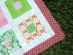 girl quilt border ... which will be removed