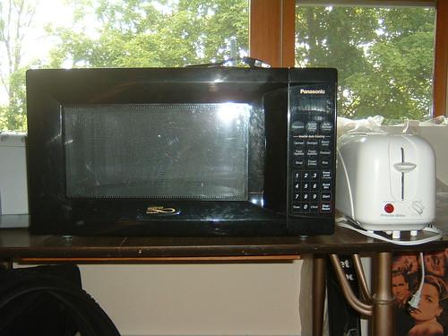 Panasonic Inverter Microwave Oven - $30 & Proctor Silex Toaster - $5