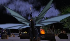 Love the wings (illuminator999) Tags: life gay beach boots avatar linden sl second bums mission illuminator dingson