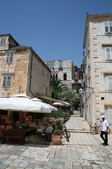 Hvar (blueduba) Tags: stairs croatia entrances
