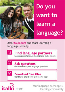 Do you want to learn a language?