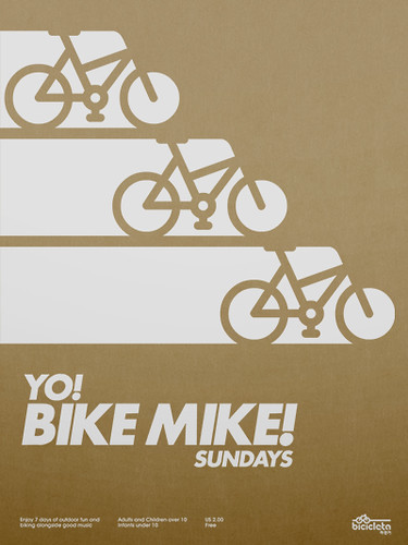 Yo! Bike Mike! Poster / _Untitled-1