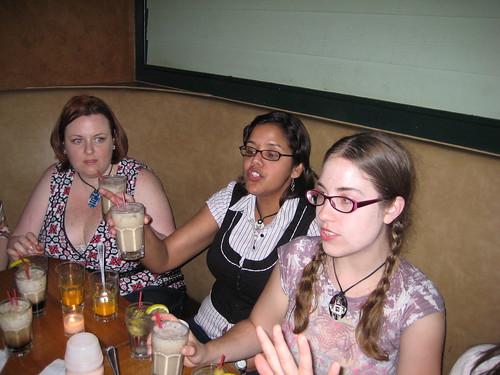 Elyse, Maria, Rebecca