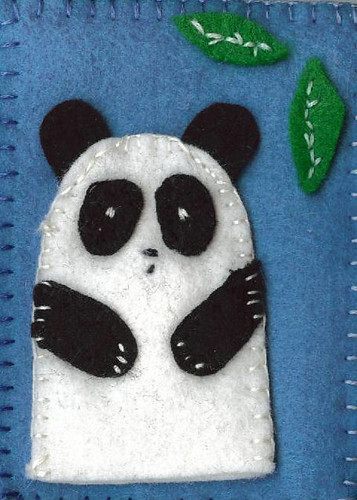 ATC - Panda Finger Puppet