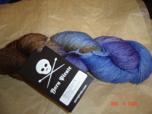 "Yarn Pirate ""Blueberry"""