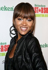 Meagan Good smiling