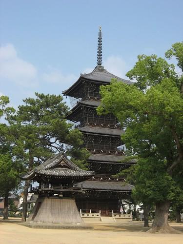 善通寺五重塔(香川県,四国)