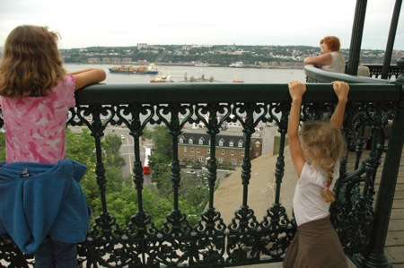 the girls in Quebec City
