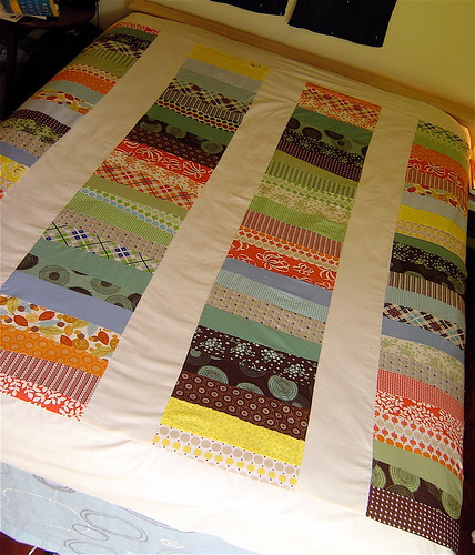 Coin Quilt Top