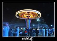 (A.Alwosaibie) Tags: lighting light lines night fun photo nikon shot games spot 1855mm oman vr d60 salalah                60