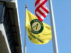 Oakland A's Flag