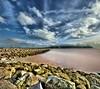 Llandudno Beach, North Wales... (i.rashid007) Tags: uk longexposure wales llandudno hdr digitalblending vertorama