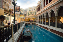 The Venetian Macau () - San Luca Canal (My Hourglass) Tags: world venice light building mall shopping hotel boat canal luca nikon san asia d70s casino structure resort strip theme venetian passenger macau renaissance largest  cotai cotaistrip  sanlucacanal
