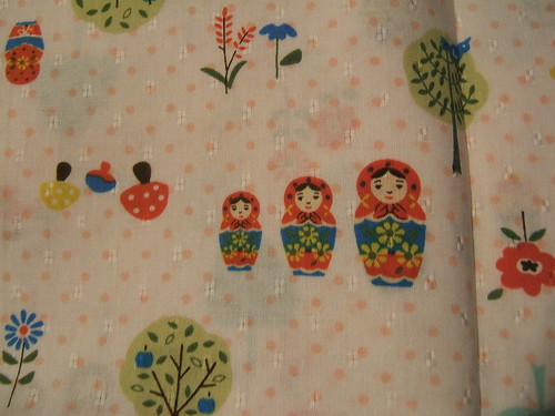 matroyshka fabric