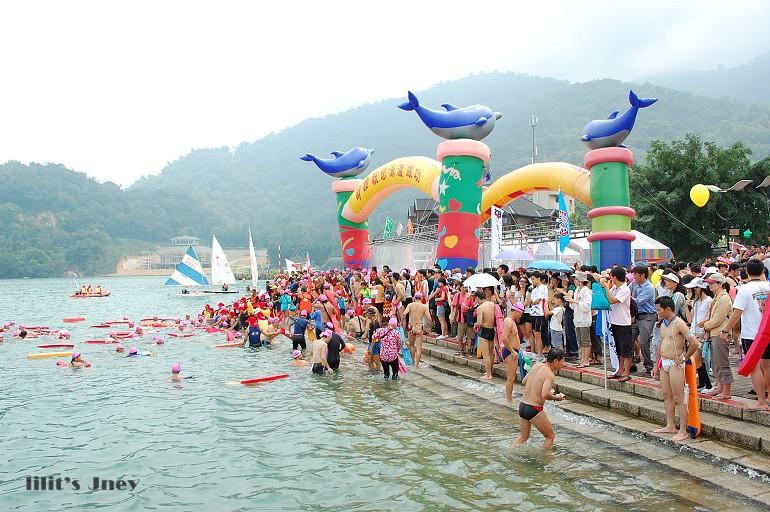 20080831_萬人泳渡日月潭終點