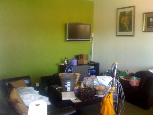 livingroom mess