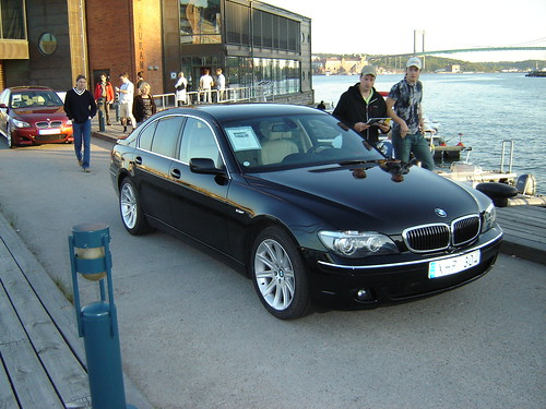Bmw Gallery Black Bmw 730d E65