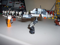 036-Republic-Base (Brick_Alchemist) Tags: set starwars lego garage troopers legos minifigs custom clone base droid spareparts astromech droids moc speeders clonetroopers turbotank