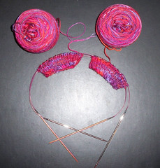 Two Socks on Two Circular Needles - Indie Dyer