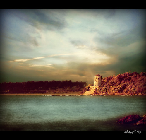 La torre sul mare - The tower on the sea